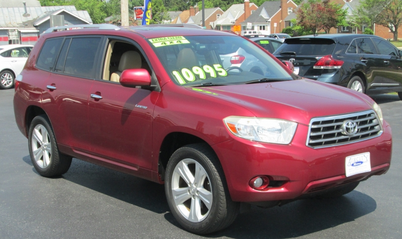 Toyota HIGHLANDER LIMITED 4X4 2008 price $9,995