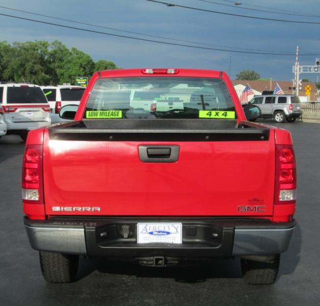 GMC SIERRA REG CAB LONGBED 4X4 2008 price $11,995
