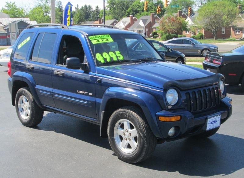 Jeep LIBERTY LIMITED 4X4 2002 price $4,995