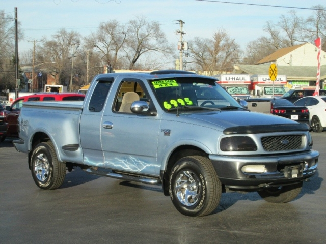 1998 ford f 150 xlt supercab flareside 4x4 pick up a true for 1998 ford f150 motor for sale