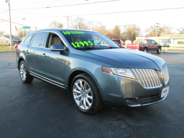 2010 Lincoln Mkt Suv 3rd Row Seating Heated Leather Dbl Panel