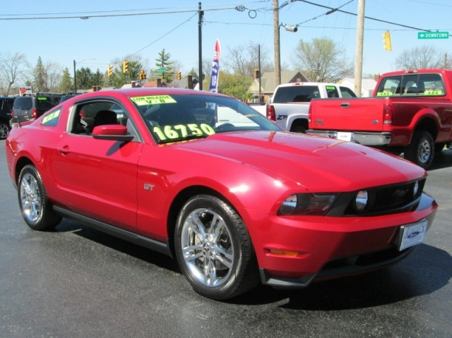 2010 Ford MUSTANG GT 6 SPEED MANUAL
