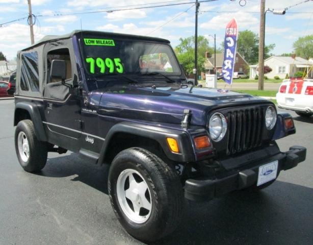 1999 Jeep WRANGLER SE 4X4