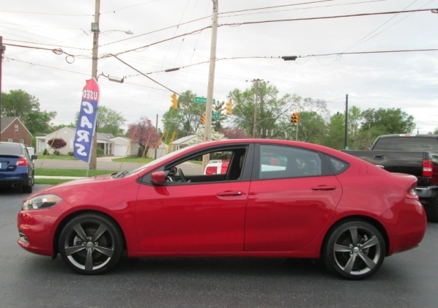 2014 Dodge DART GT SEDAN/6-SPEED MANUAL