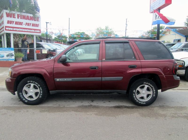 Texas Auto Sales >> 2004 Chevrolet TrailBlazer 4dr 2WD LS - Inventory | Urquieta Auto Sales | Auto dealership in ...