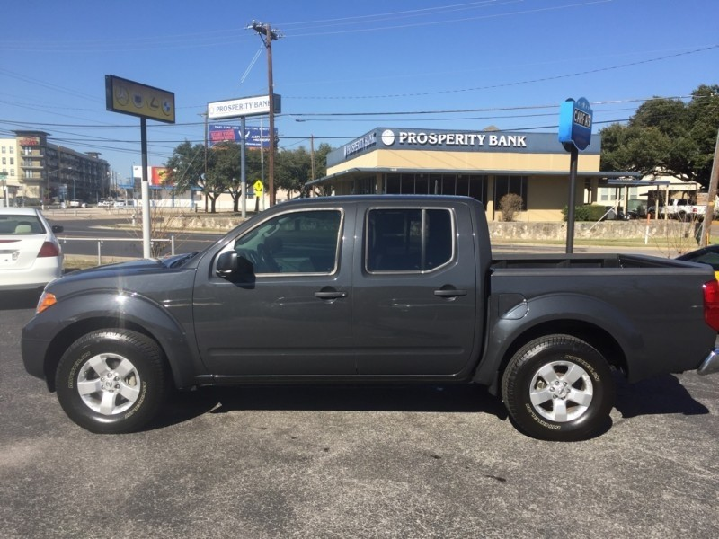 2013 Nissan Frontier 2wd Crew Cab Swb Automatic Sv