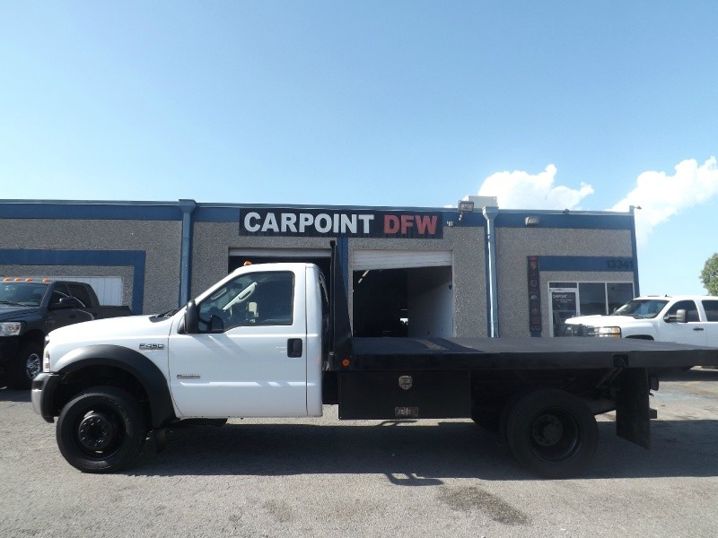 2006 ford f450 xl reg cab dually 6 0l powerstroke diesel flatbed inventory carpoint dfw. Black Bedroom Furniture Sets. Home Design Ideas
