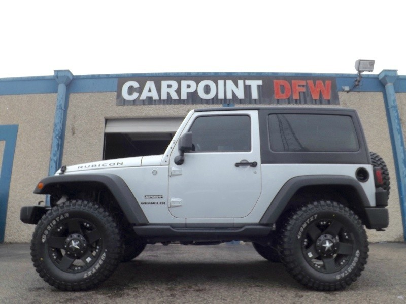 2012 Jeep Wrangler 4x4 LIFTED 5 NEW TIRES