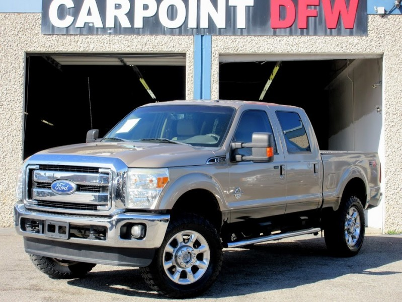 2011 Ford F250 LARIAT 4x4 LIFTED W/ 4 NEW TIRES