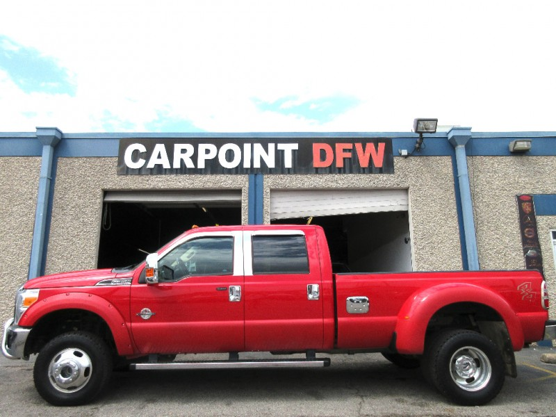 2012 Ford F350 LARIAT 4x4 DUALLY