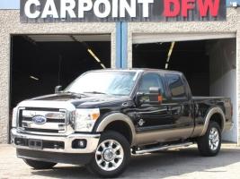 Ford F250 LARIAT CREW CAB 4X4 6.7L DIESEL 2013