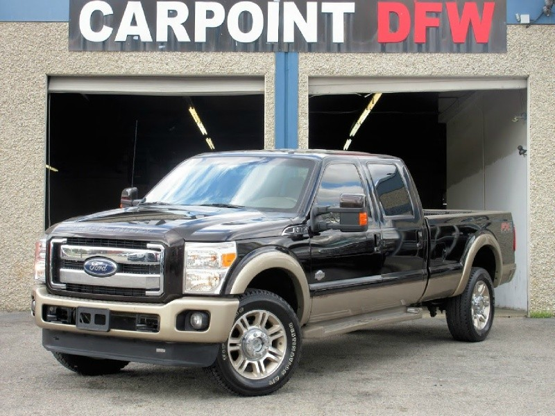 2013 Ford F350 KING RANCH 4x4