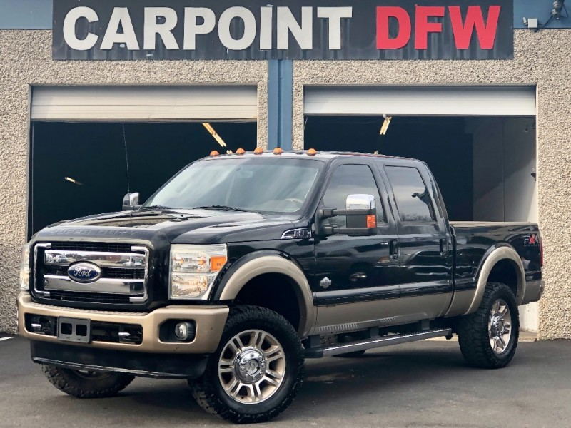 2011 Ford F350 KING RANCH 4X4