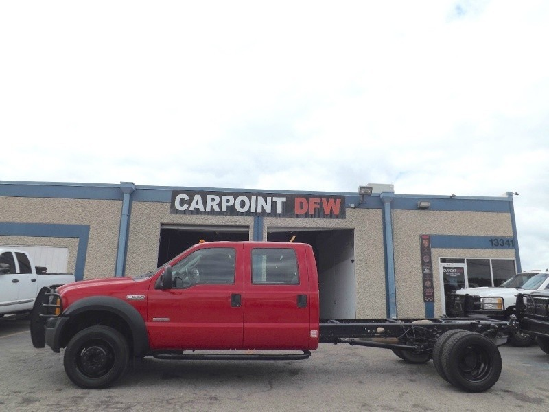 2007 Ford F550 CABIN CHASSI