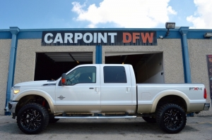 Ford F250 LARIAT LIFTED 4 NEW TIRES 2011