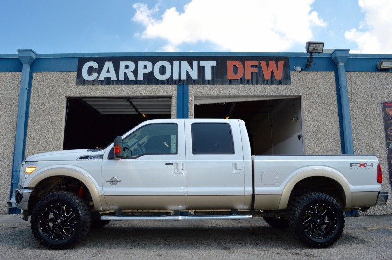 2011 Ford F250 LARIAT LIFTED 4 NEW TIRES