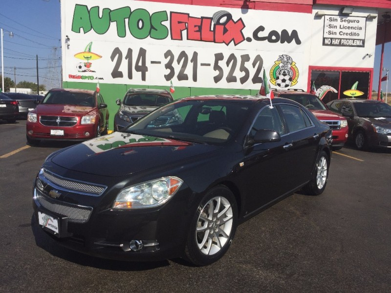 Chevrolet Malibu LTZ 2012 price $1,500 Down!!
