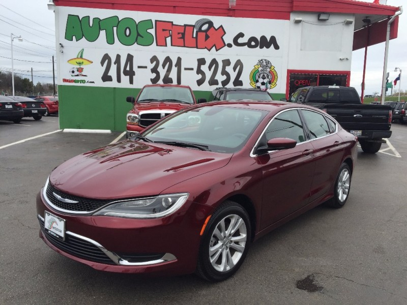 Chrysler 200 2015 price $1,500 Down!!