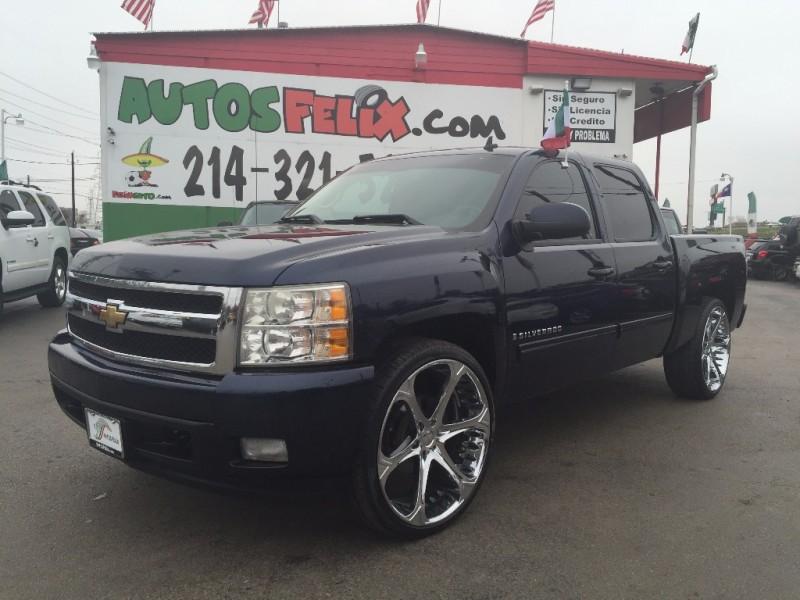 Chevrolet Silverado LTZ!!! Piel, rines 26! 2013 price $1500 Down!!