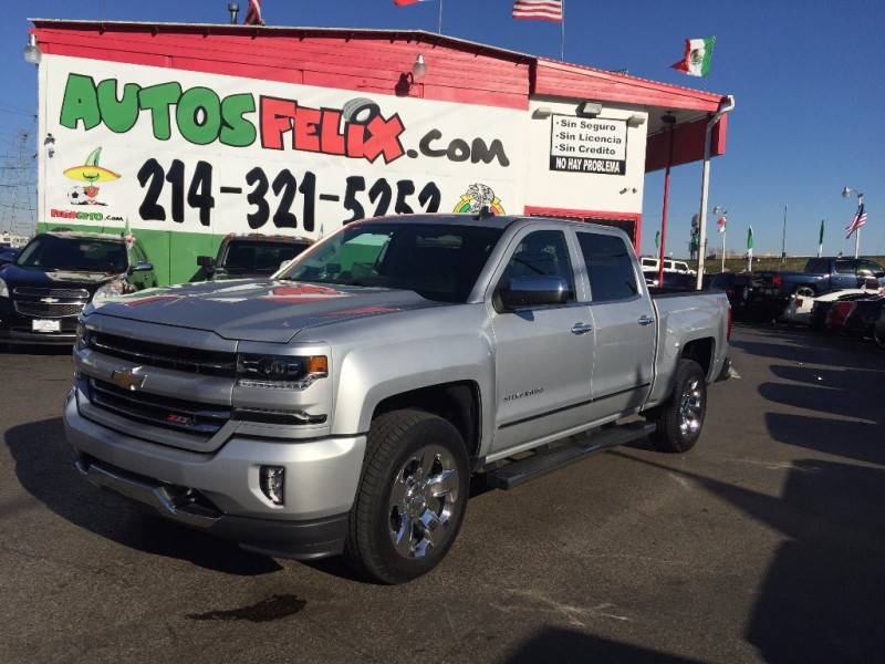 Chevrolet Silverado Z71 2015 price $4,500 Down!!