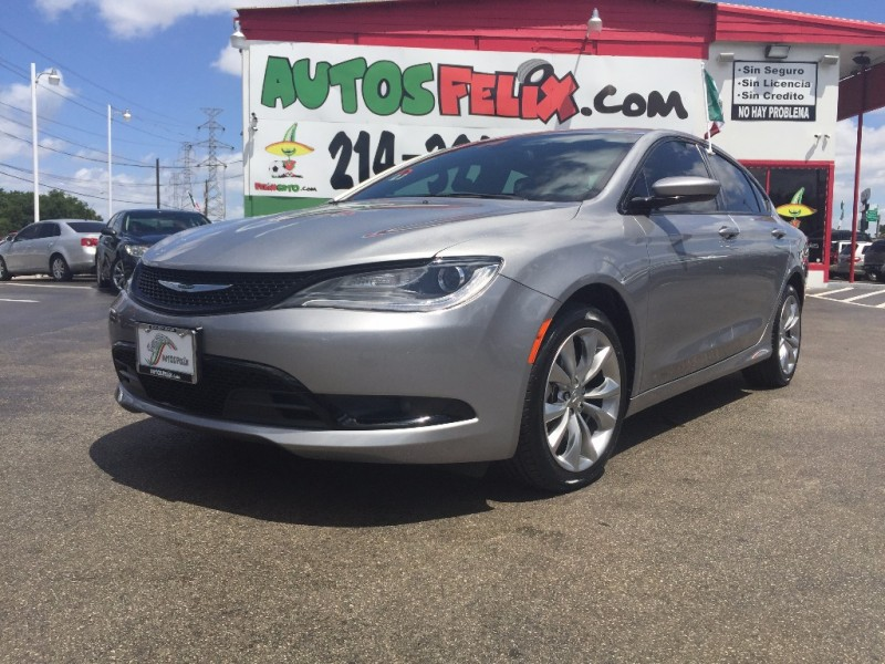 Chrysler 200 S Piel Quemacoco!!! 2016 price 1500 Down