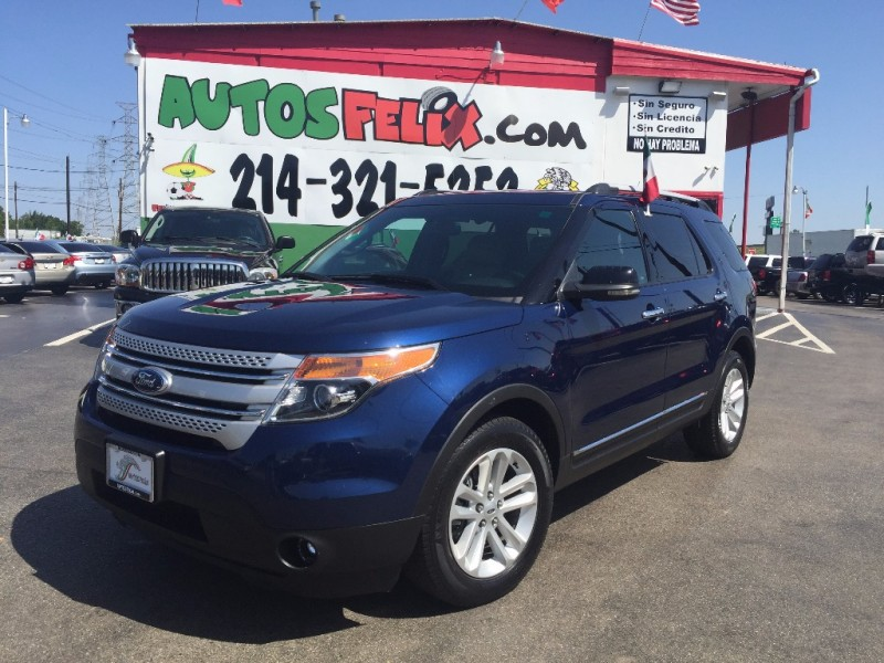 Ford Explorer Limited!!! Piel!! 2015 price $1,500 Down!!