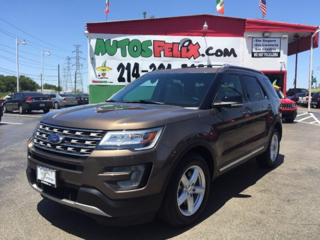 2016 Ford Explorer XLT!!  7k millas!!