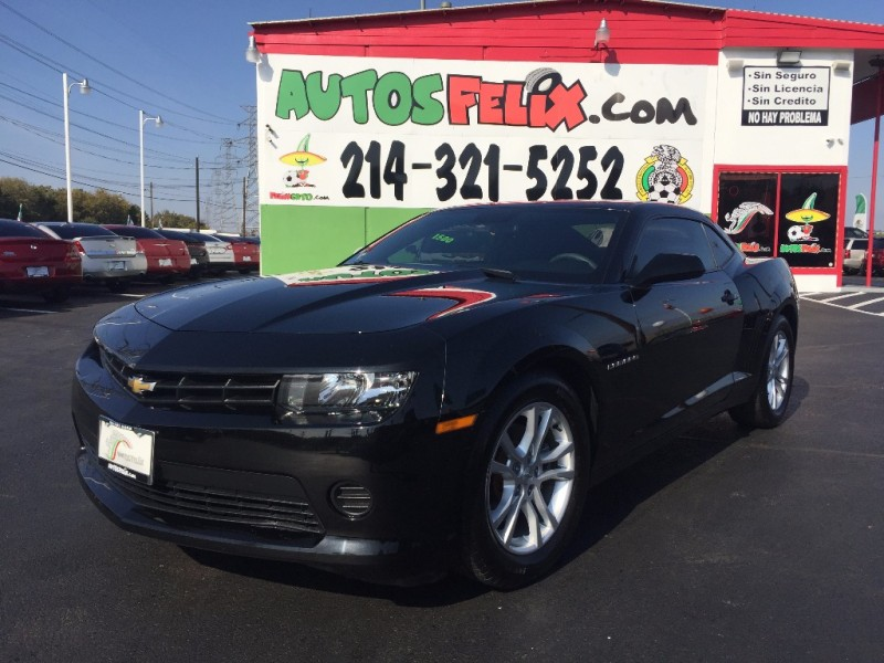 Chevrolet Camaro!!! 2015 price $1,500 Down!!