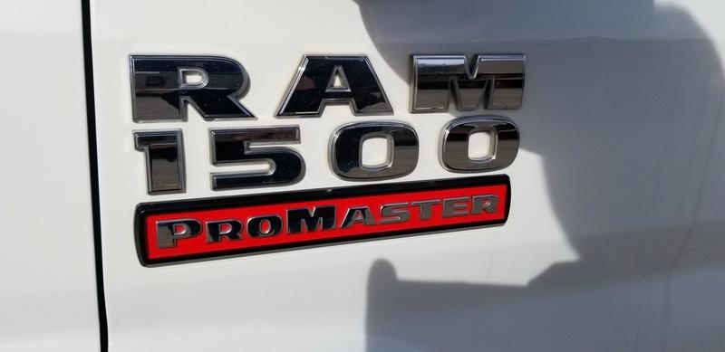 RAM Promaster 2015 price $16,500