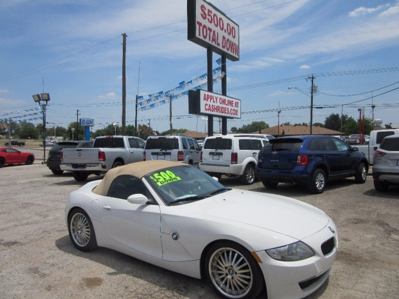 2007 Bmw Z4 Si2dr Roadster 2 Year Mait Plan With Purchase
