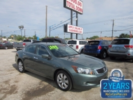 Honda Accord Sdn 500.00 total down 2009