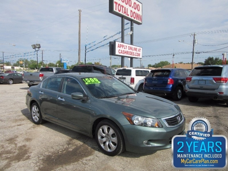 2009 Honda Accord Sdn 500.00 total down