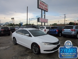 Chrysler 200 s leather nav 500totaldown.com 2015