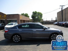 Honda Accord Sedan Sport 500totaldown.com 2015