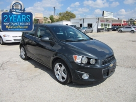 Chevrolet Sonic  500.00total down all credit 2015