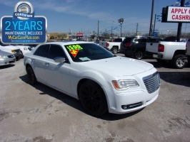 Chrysler 300C 500 total down all credit 2014