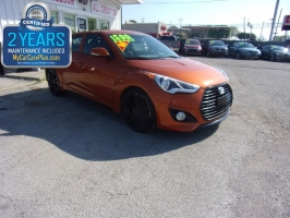 Hyundai Veloster 500total down 2016
