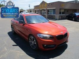 BMW 2 Series Msport suspension 2014