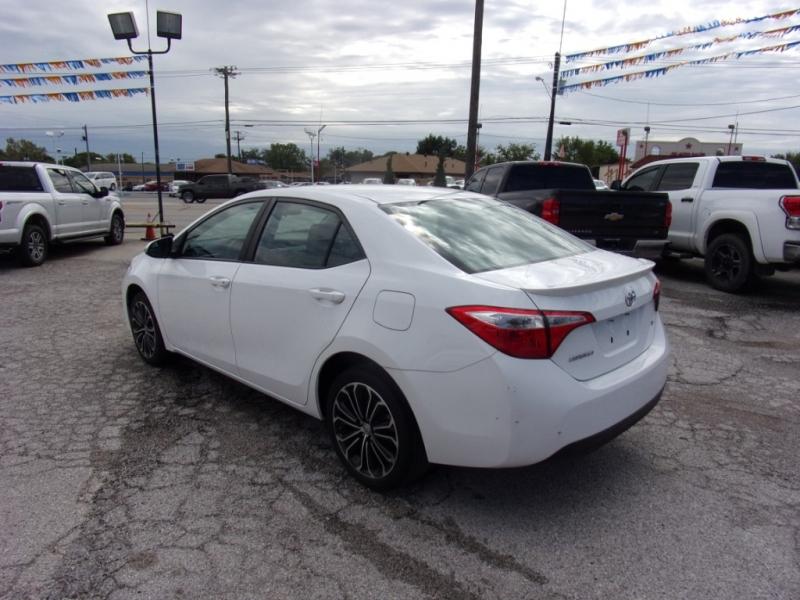 Toyota Corolla 2016 price $14,500
