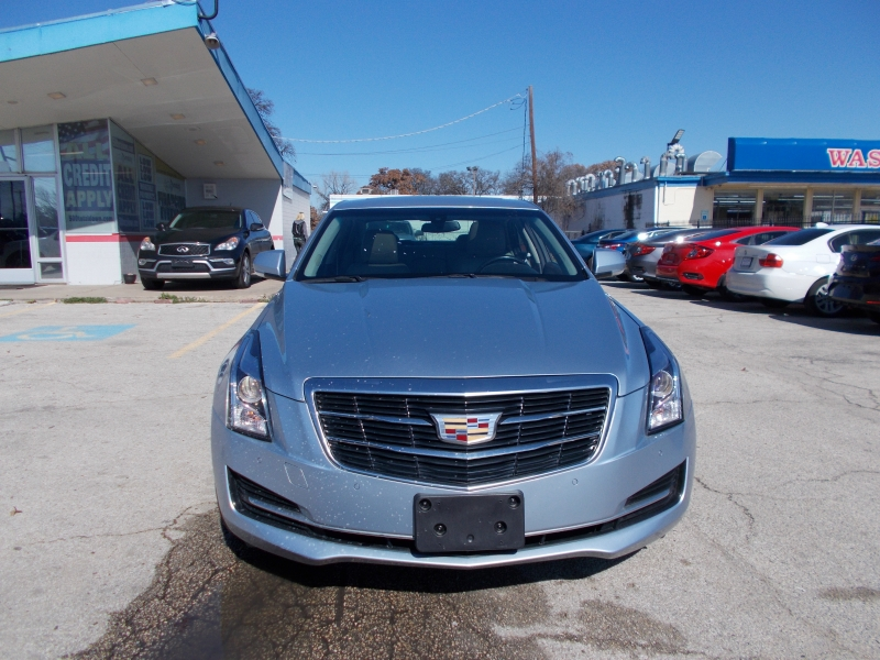 Cadillac ATS Sedan keep your tax money 500totaldown.com 2017 price $19,995