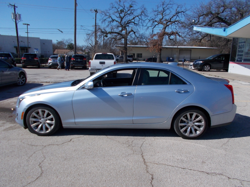Cadillac ATS Sedan keep your tax money 500totaldown.com 2017 price $19,995