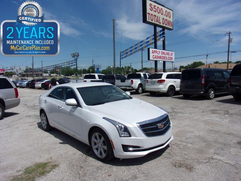 Cadillac ATS Sedan 500totaldown.com 2016 price $16,995