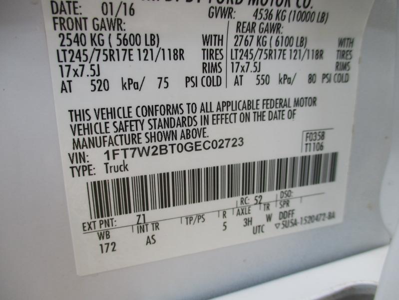 Ford Super Duty F-250 SRW 2016 price $23,995