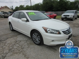 Honda Accord Sdn* 500 total down all credit 2011