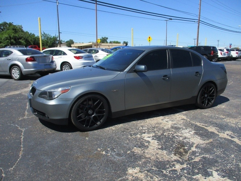 2006 BMW 5 Series Custom All The Way Wrap Text Us Now