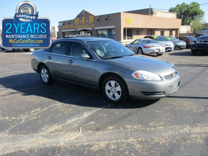 2008 Chevrolet Impala 500.00 total down all credit
