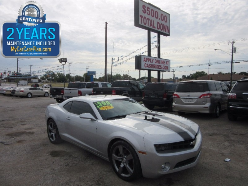 2012 Chevrolet Camaro SS 500.00 TOTAL DOWN ALL CREDIT