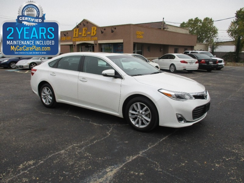2013 Toyota Avalon 500.00 TOTAL DOWN ALL CREDIT