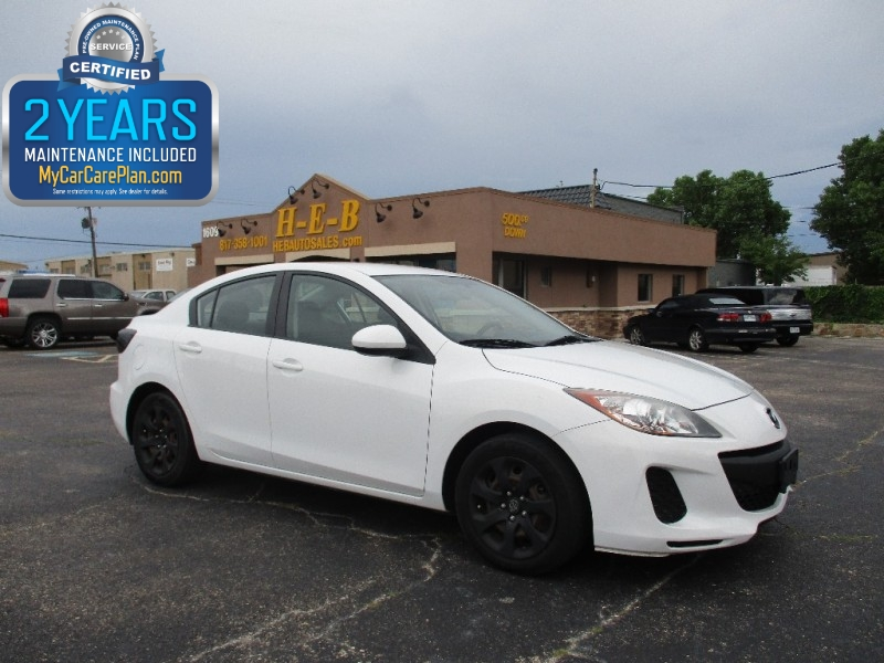 2012 Mazda Mazda3 500.00 total down all credit