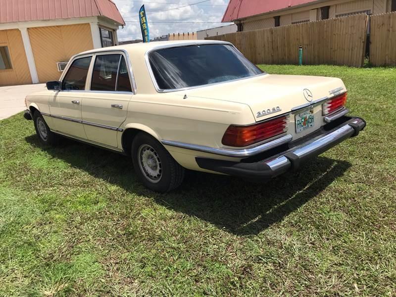 Mercedes-Benz 300-Class 1980 price $6,500